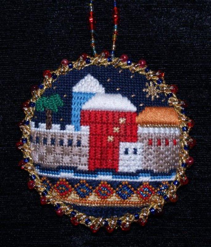 Jerusalem Round Ornament