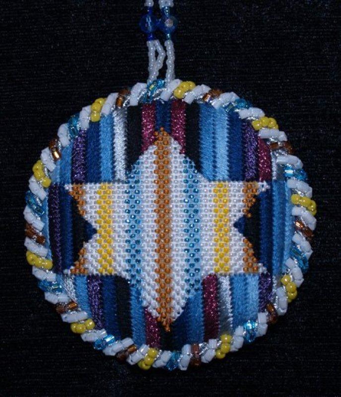 Multi Striped Star of David