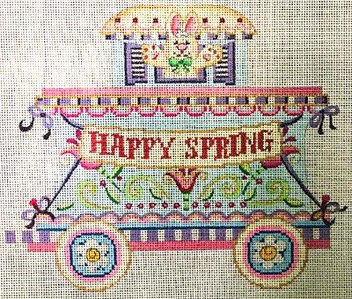 Happy Spring Caboose