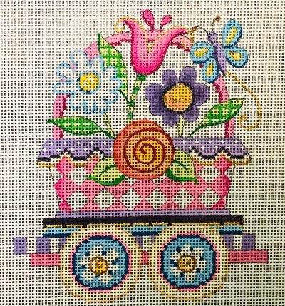 Happy Spring Train, Flower Car