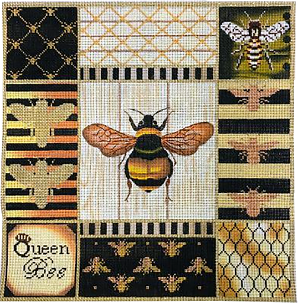 Queen Bee Collage