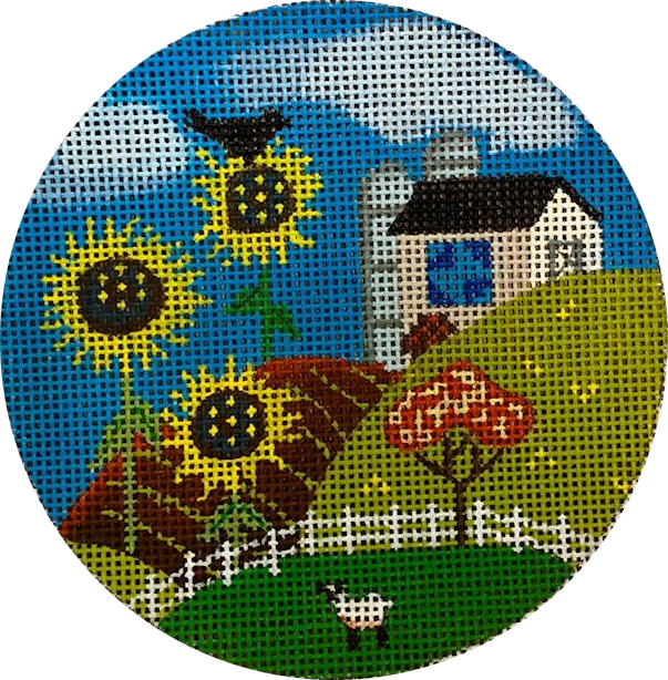 Ornament, Sunflower Home and Lamb