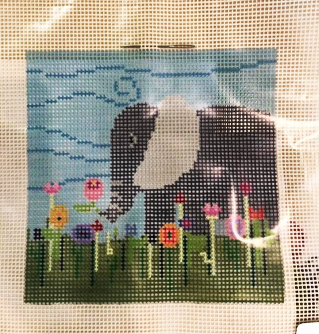 Learn to Needlepoint, Elephant