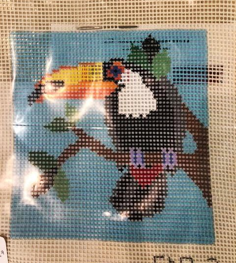 Learn to Needlepoint, Toucan