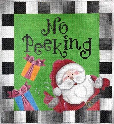 Stand-ups/Pillows, No Peeking Santa