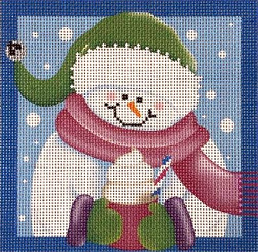 Ornament, Jingle Snow Girl