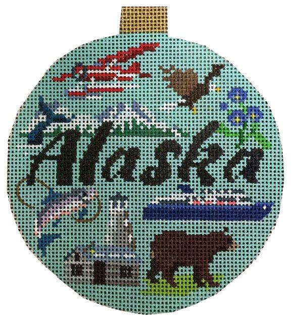 Travel Ornament,  Alaska