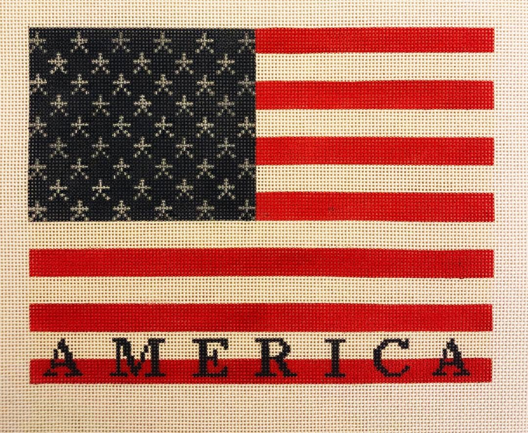 America on US Flag
