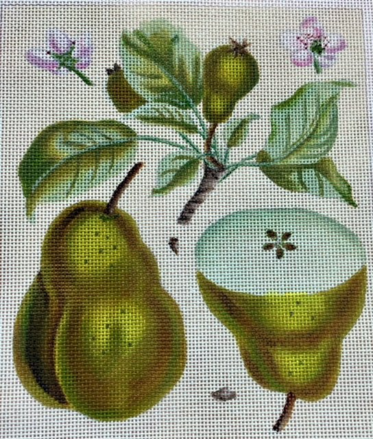 Pears and Flowers