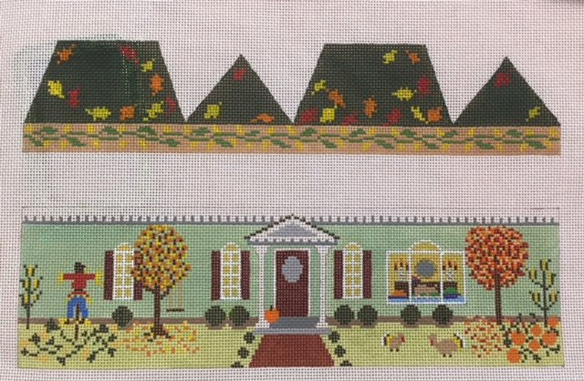Pumpkin 3D House