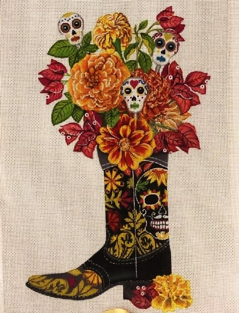 Day of the Dead Boot