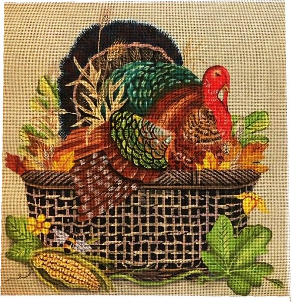Turkey in Basket