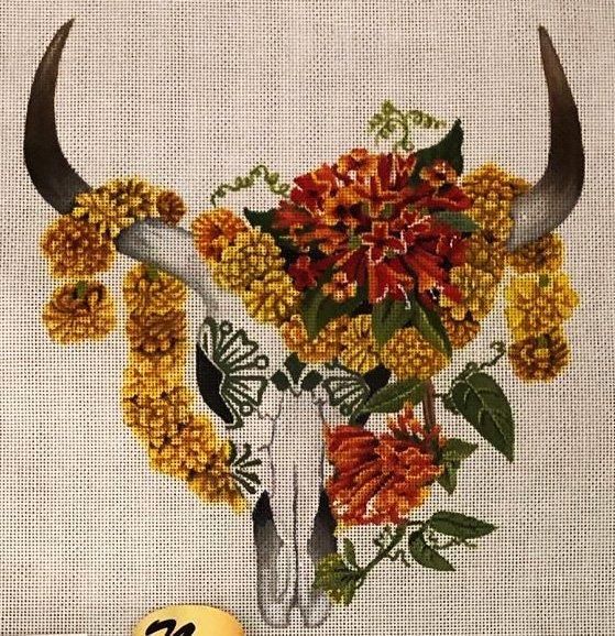 Marigold Skull