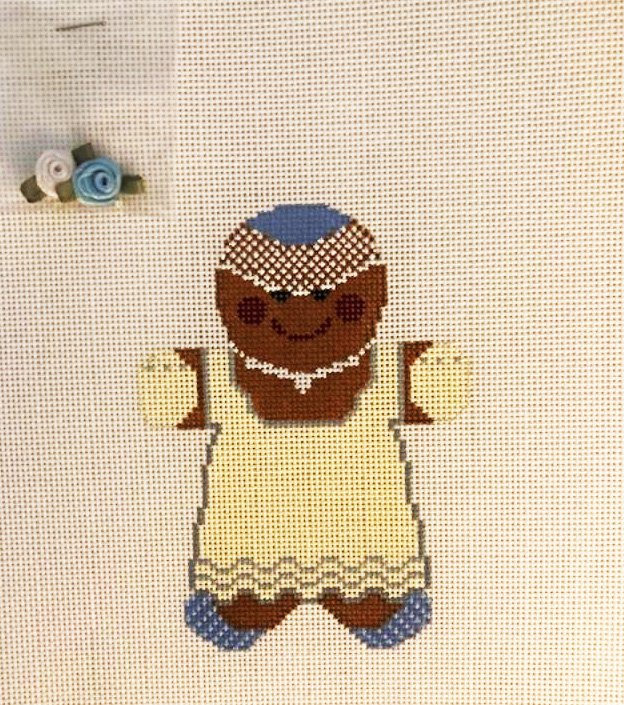 Ginger Bride Gingerbread Cookie