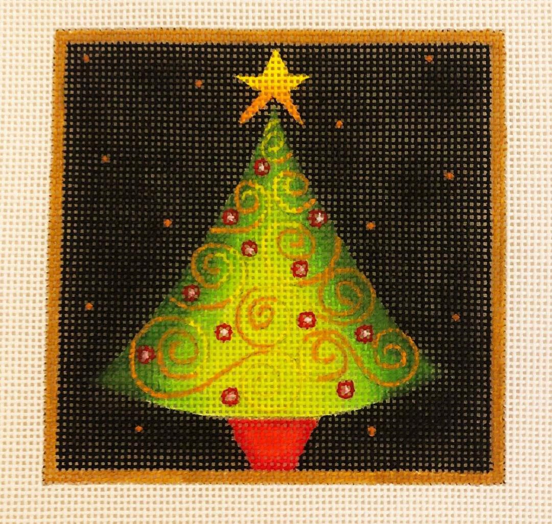 Ornament, Tree Swirls