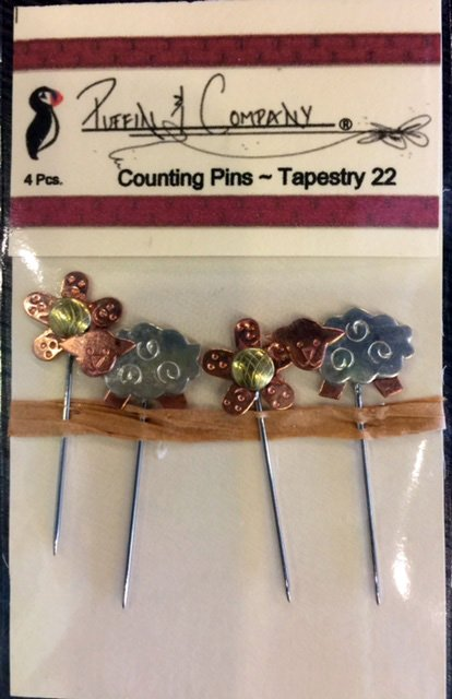 Unique Counting Pins