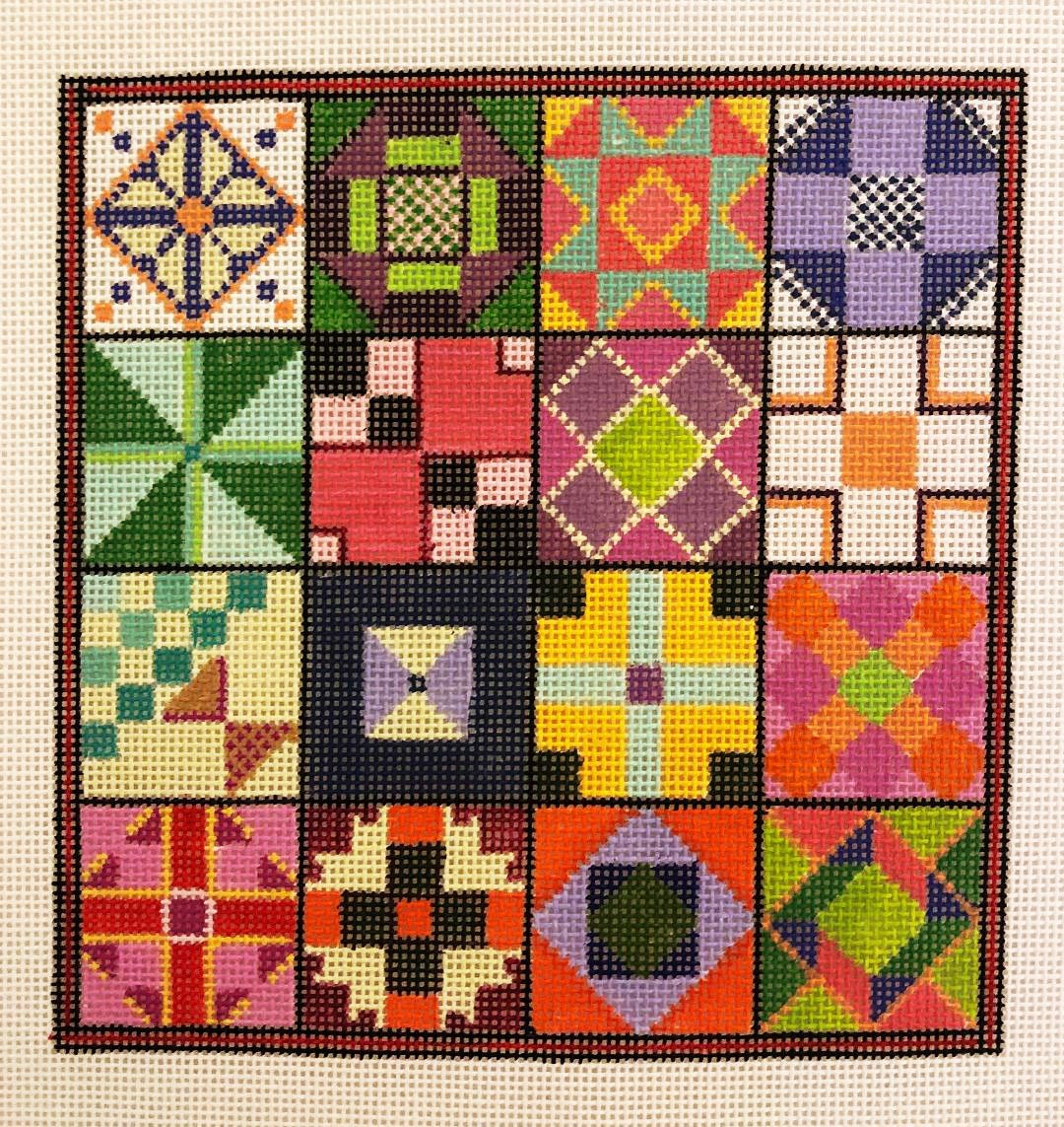 Quilt Squares and Pinwheels