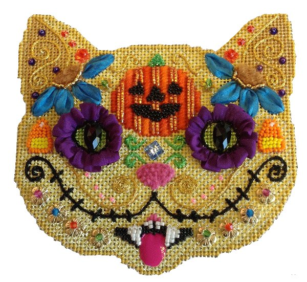 Day of the Dead Jack Cat