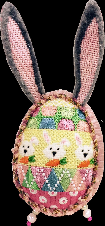 Bunny Egg, 2016  Bunnies and Carrots