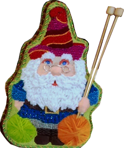 Hobby Gnome, The Knitter