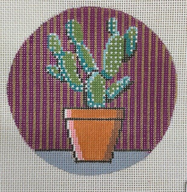 Ornament, Cactus Round