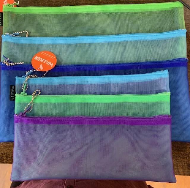 Walker, Triple Zip, 2 sizes, no handles