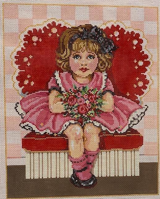 Valentine Little Girl