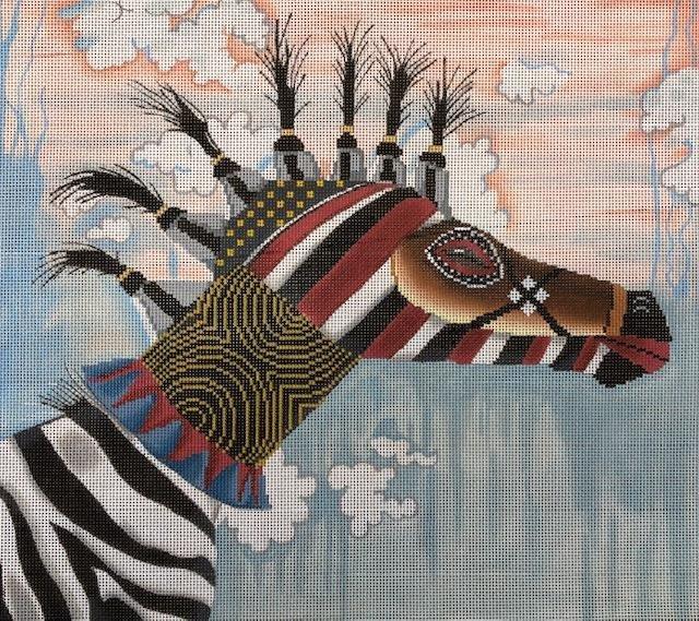 Tribal Mask Giraffe