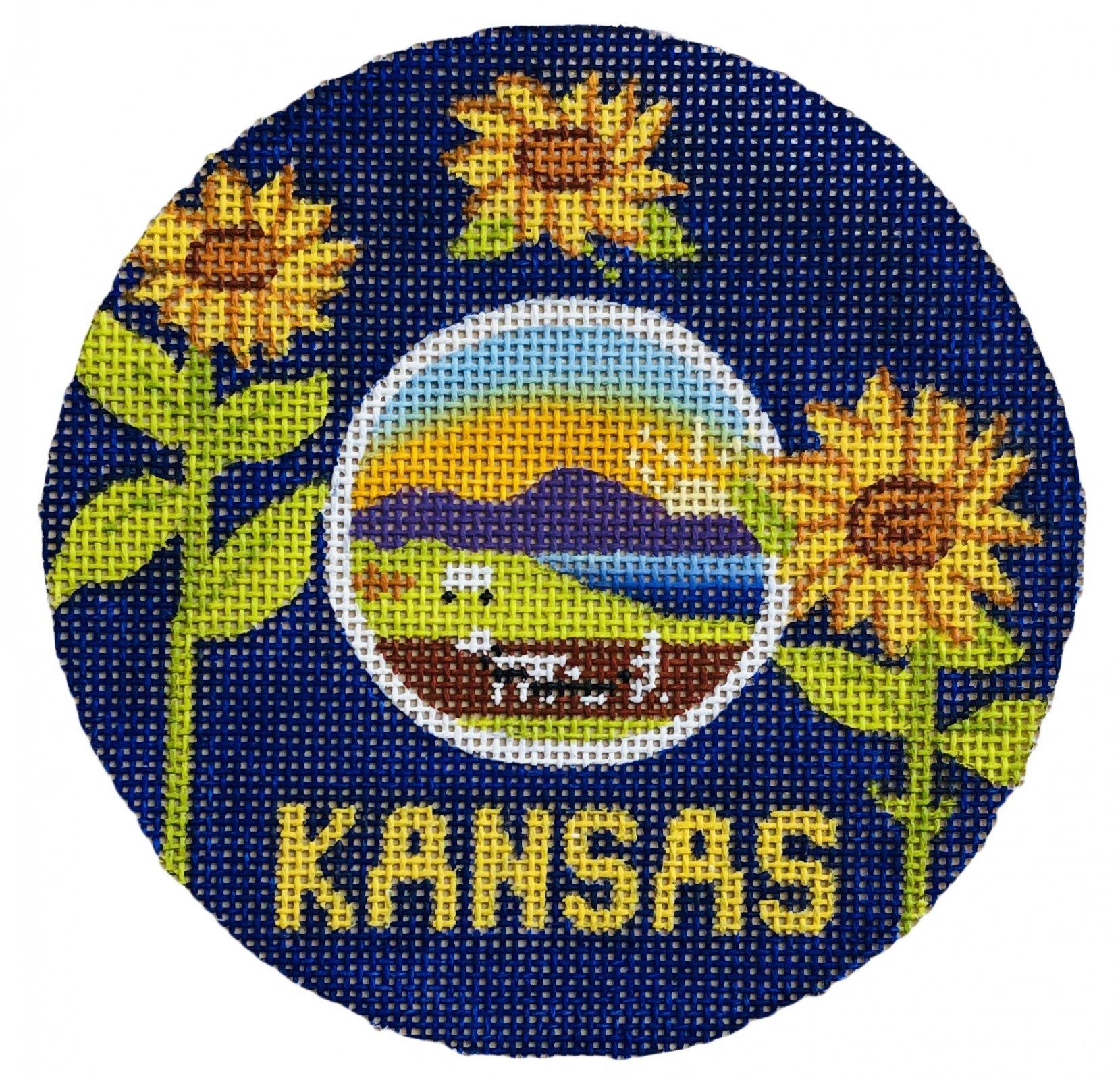Kansas Flag Ornament