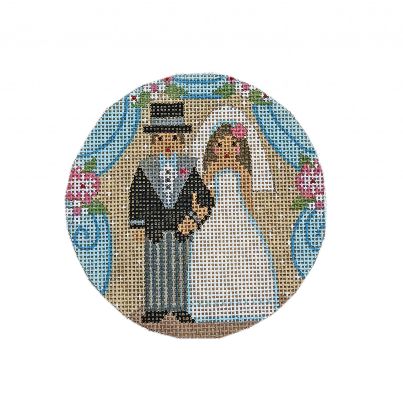 Ornament, Bride and Groom
