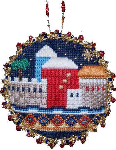 Judaic Juresalem Ornament