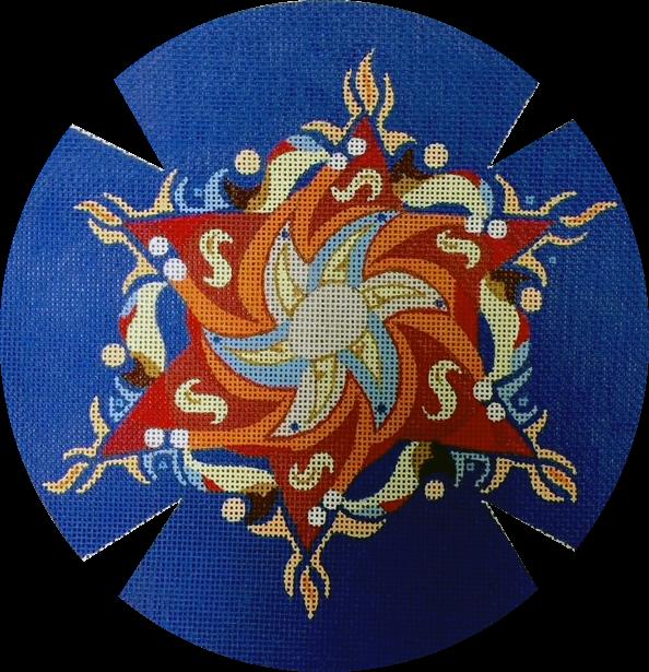 Blue Yarmulke