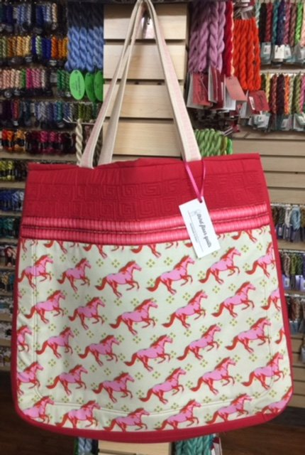 Pink Horses Tote