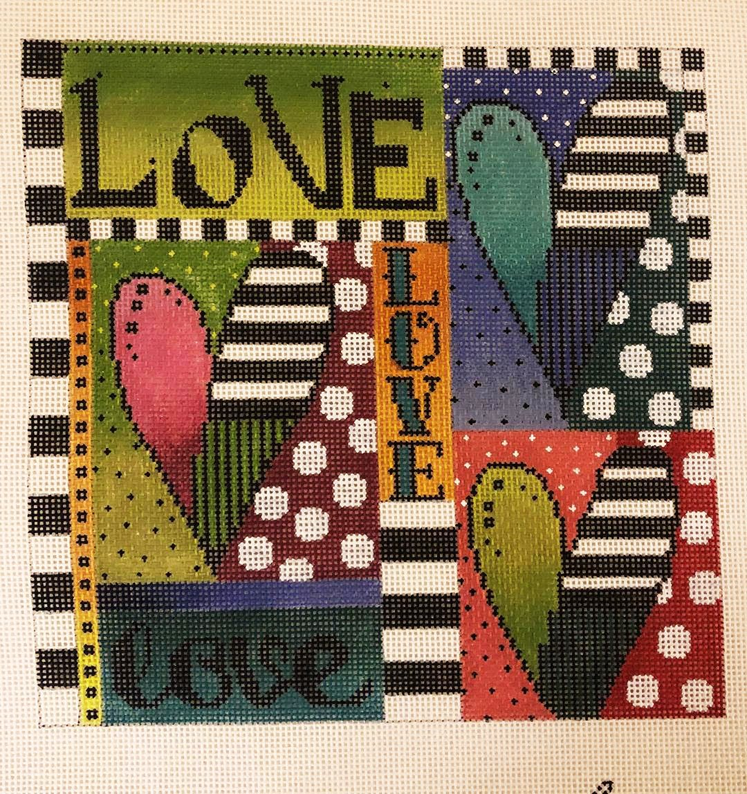 Love and Hearts Collage