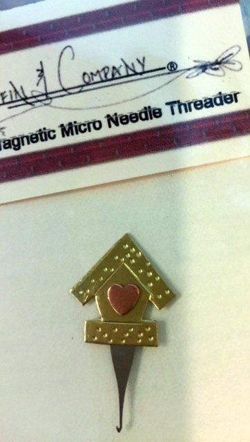 Birdhouse Micro Needle Threader
