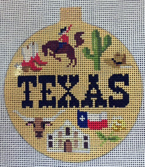Christmas Ornament: Texas Things!
