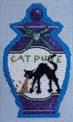 Poison Bottle Cat Puke