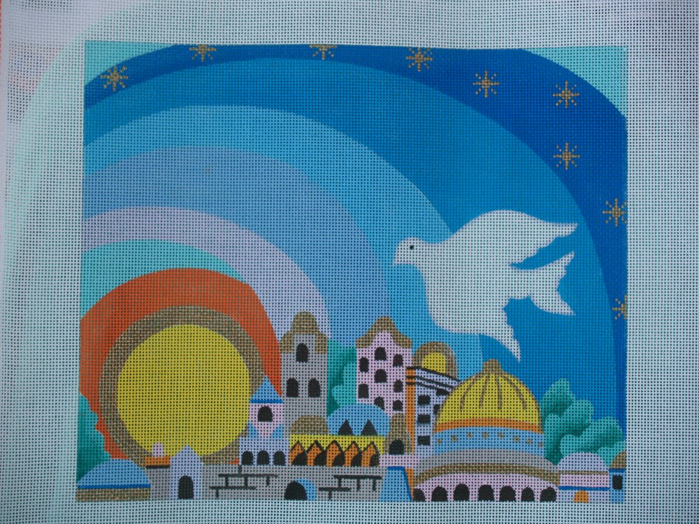 Jerusalem Dove Scene