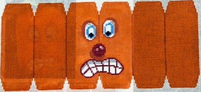 Pumpkin Folding Scared!