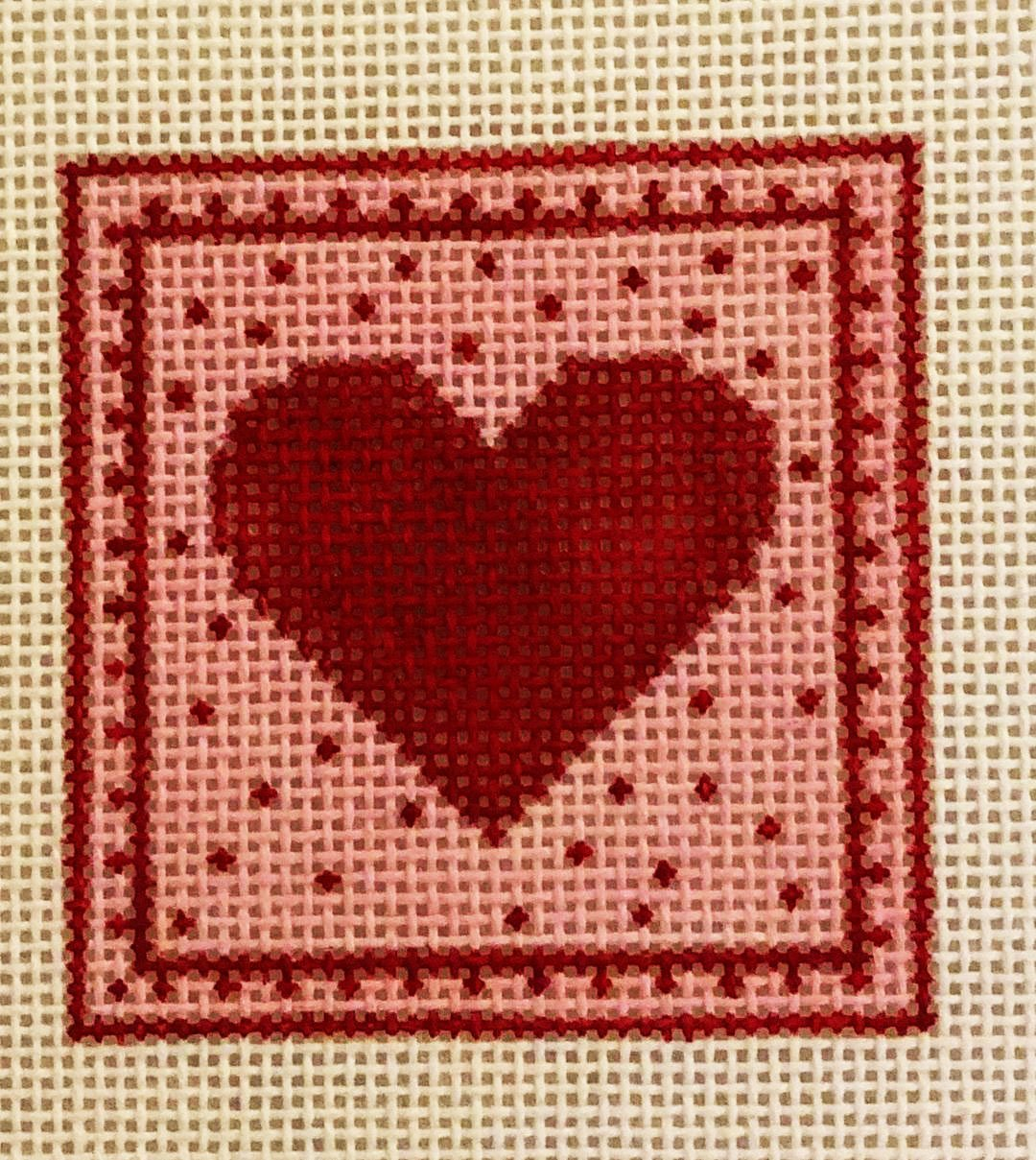 Heart in Square