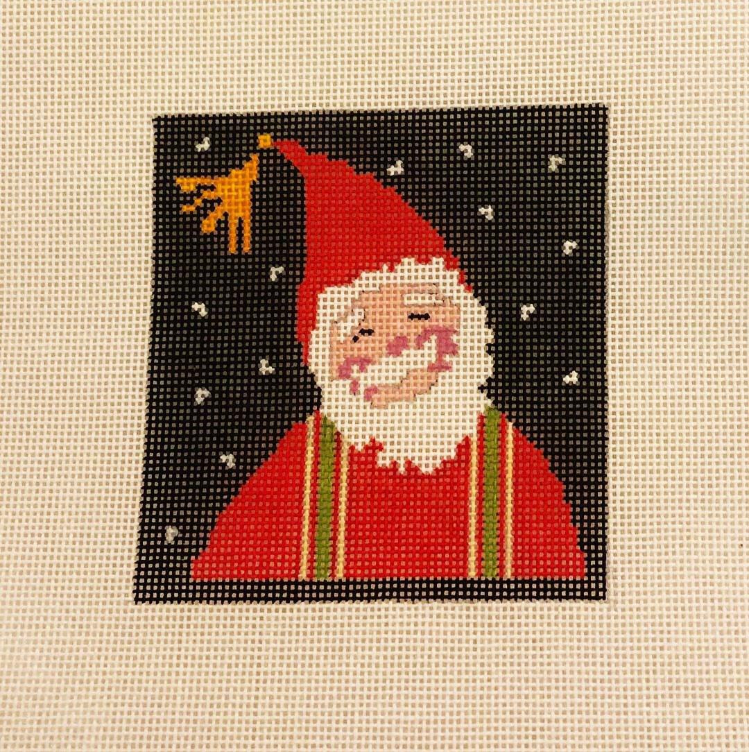 Ornament, Little Folk Santa