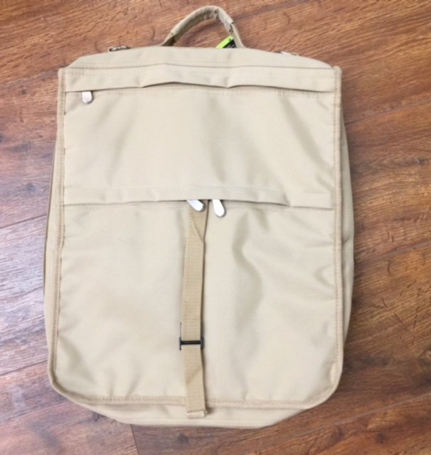 Tan Canvas Tote