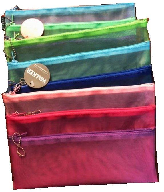 Walker Triple Zip Bags, no handles
