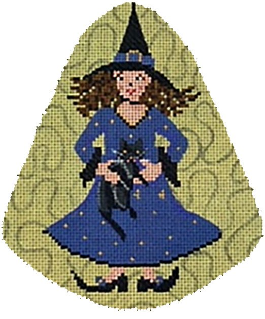 Little Witch with Cat