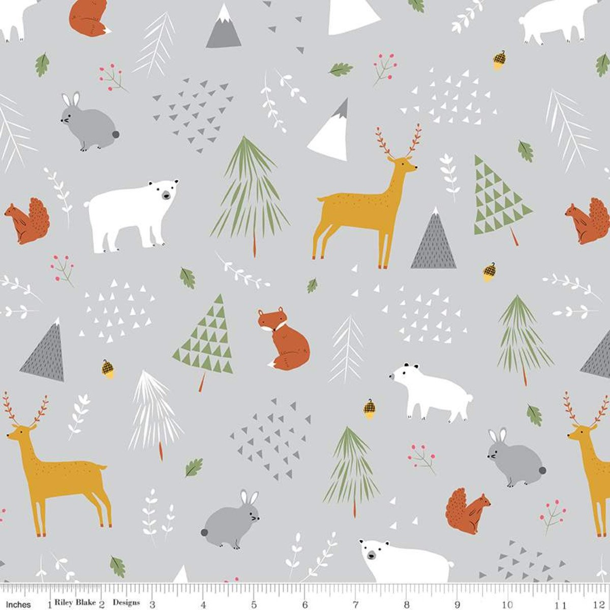 Forest Flannel Gray