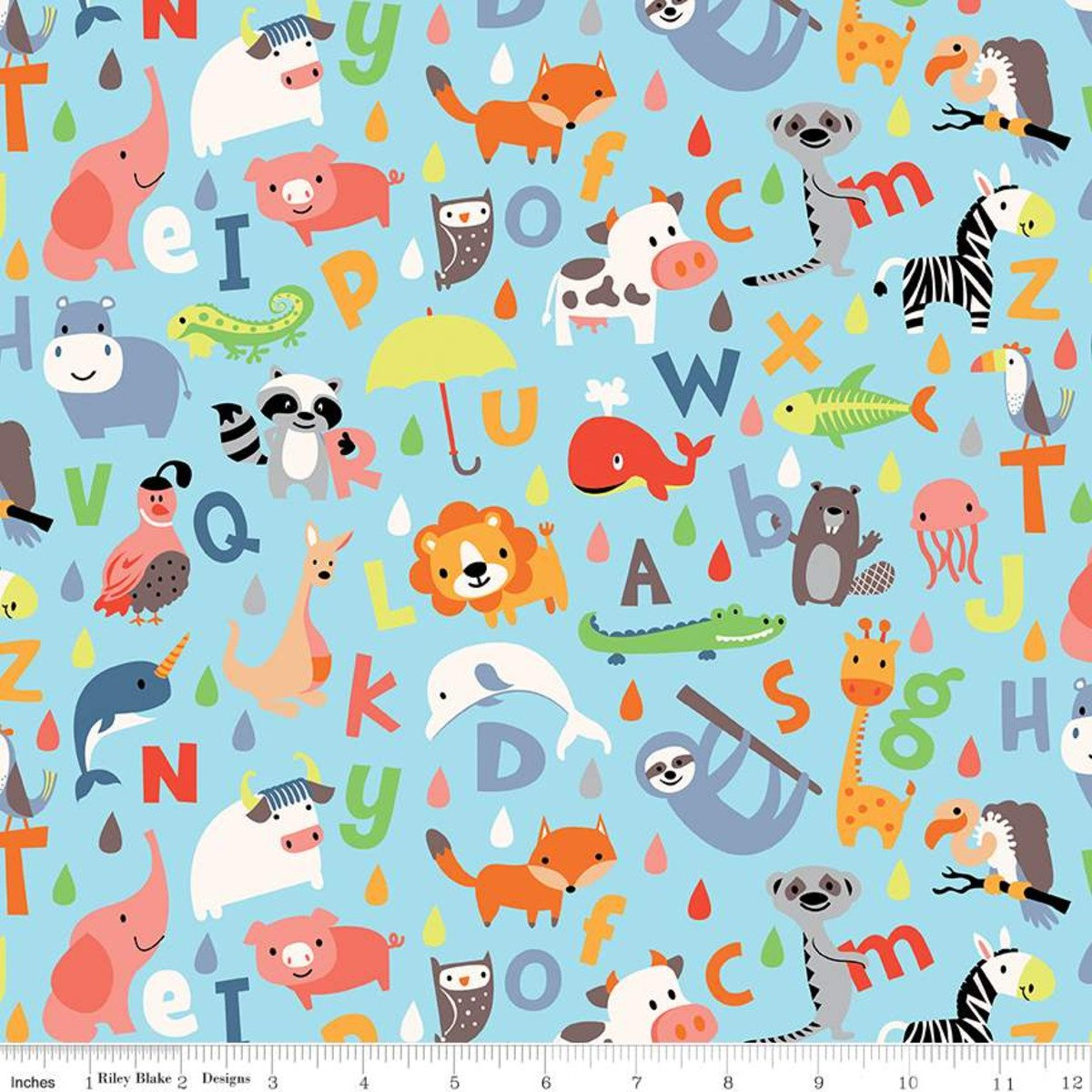 Noah's ABC Flannel