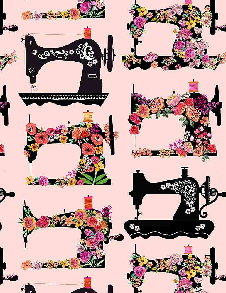 Floral Sewing Machines