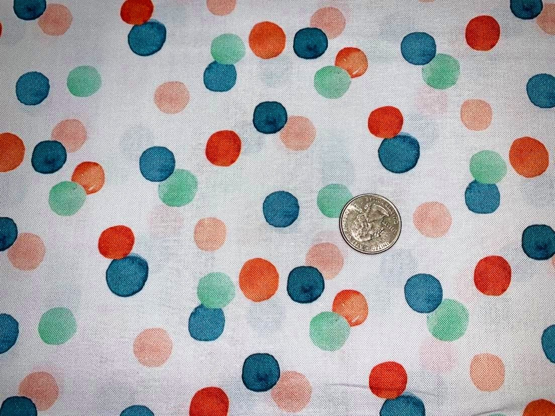 Baby It's Cold Outside - Winter Dots -  DCJ1829-White