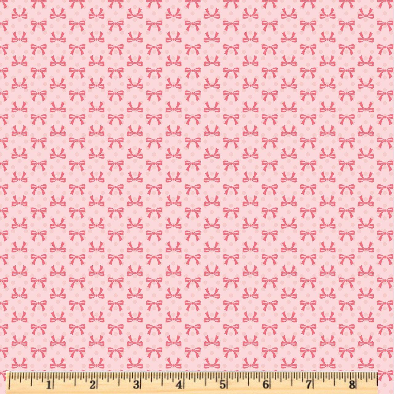 Dots & Posies - Bows - Blush