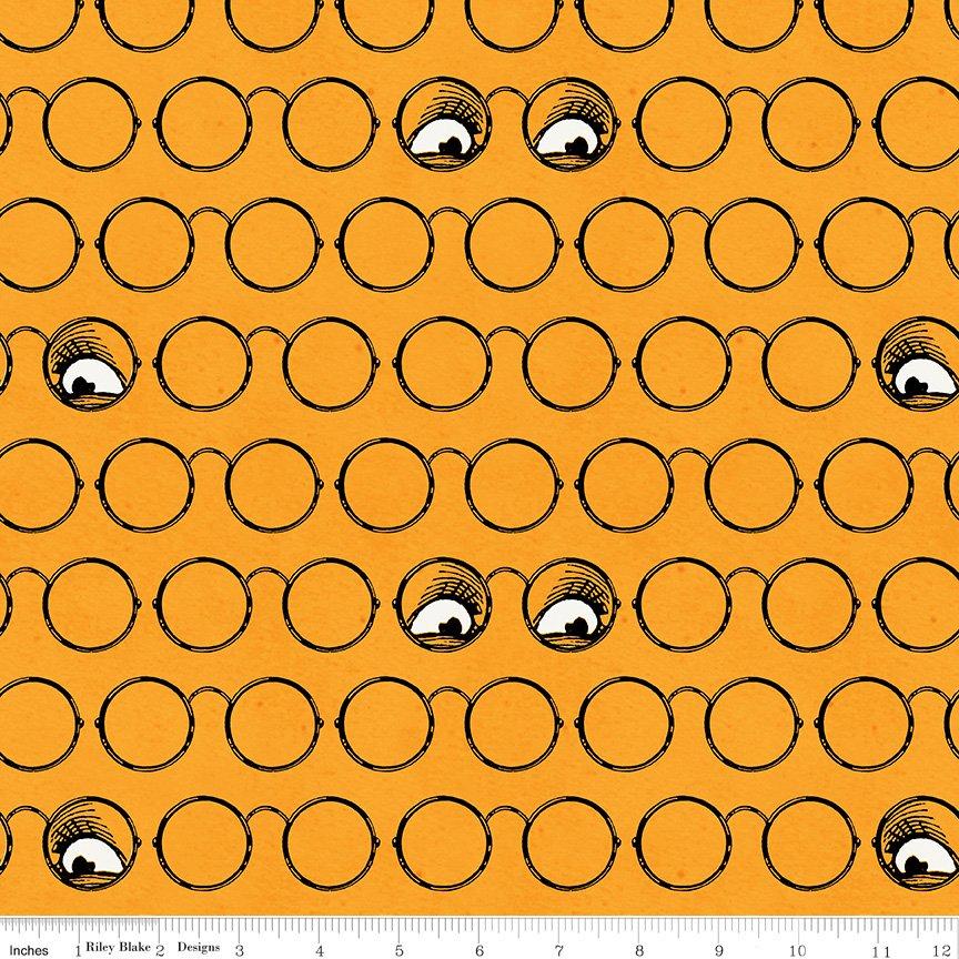 Goosetales Spooky Specs - Orange